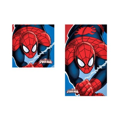 Set prosoape de fata si maini Spiderman