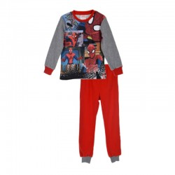 Pijamale groase Spiderman, gri