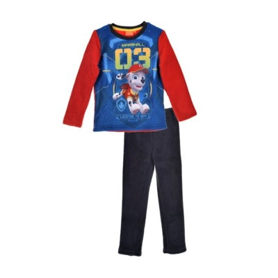 Pijamale groase Paw Patrol, rosie
