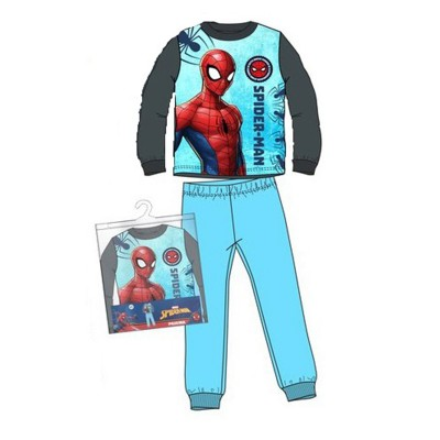 Pijamale groase Spiderman, turcoaz