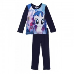 Pijamale groase Pony, mov inchis